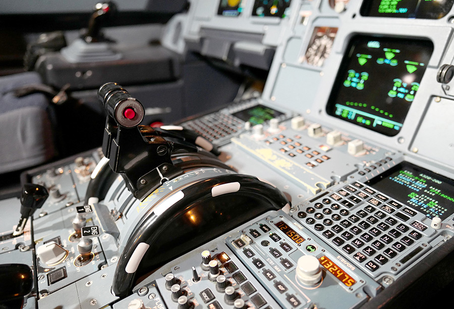 control of an aircraft