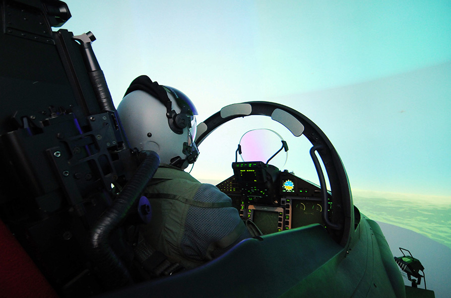 pilot flies an aircraft pilot flies an aircraft