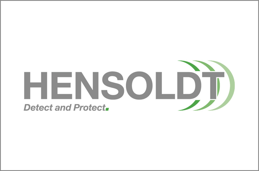 logo of Hensoldt Detect and Protect.