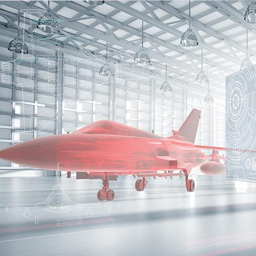 visualisation aircraft model